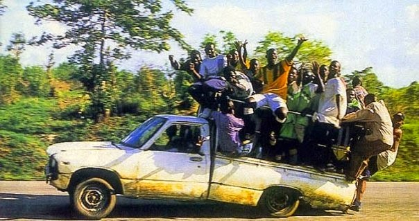 Africa car